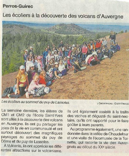 Article Auvergne