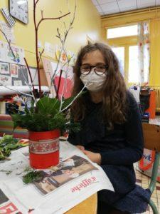éléonore et art floral