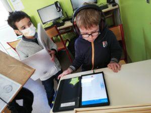 Gabriel et Elan VG tablette