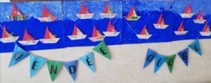 frise arts plastiques voiliers