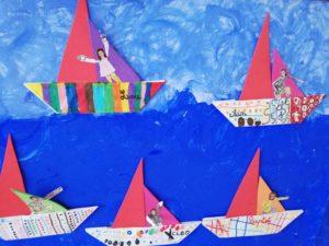 voiliers arts plastiques